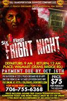 Fright Night at Six Flags Over Georgia 2015