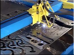 Plasma CNC Metal Cutting workshop
