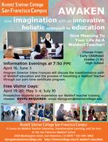 June 3 Information Evening: Become a Waldorf Teacher!