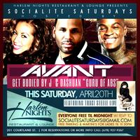 Avant Saturday at Harlem Nigts RSVP enter free til 12
