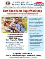 First-Time Home Buyer Work Shop Hosted By SDAR &...