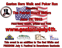 Gaston Hero WALK and POKER RUN