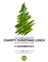The Leasing Industry Charity Christmas Lunch 2015