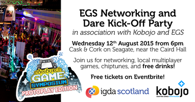 EGS Networking & Dare Kick-Off Party