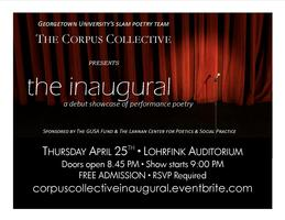 The Corpus Collective Presents: The Inaugural
