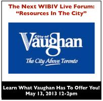 WIBIV Live Forum - Resources In The City: Get To Know...