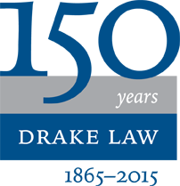 Drake Law School logo