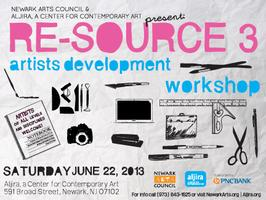 Re-Source 3: Artists Development Workshop