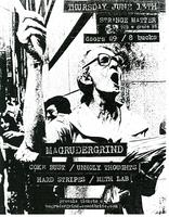 6/13: MAGRUDERGRIND, COKE BUST, UNHOLY THOUGHTS, HARD...