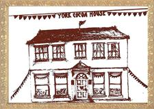 York Cocoa House Chocolate Cafe logo