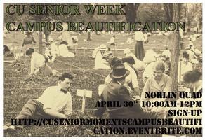 Senior Week: Campus Beautification