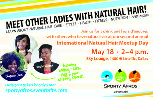 Sporty Afros Host The 2nd Annual International Natural...
