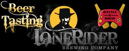 Lonerider Beer Tasting