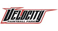 Velocity Paintball logo