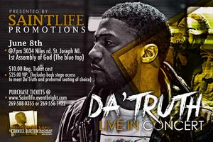 Da T.R.U.T.H. Love Hope War In Concert!
