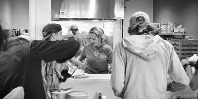 Serve Breakfast at Urban Peak w/ Project Helping