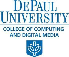 DePaul University College of Computing & Digital Media logo