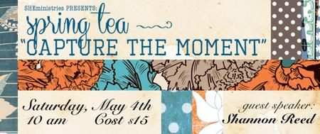 Spring Tea - Capture the Moment