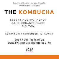 The Kombucha Essentials Workshop- Melton