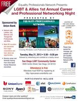 Equality Professionals Network: LGBTA Career and Networking Night
