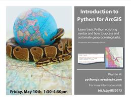 Introduction to Python for ArcGIS