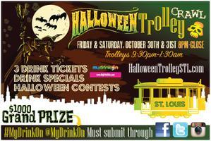 Halloween Trolley Bar Crawl - St. Louis 2 Night Event...