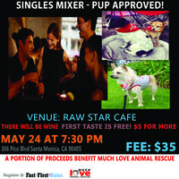 For the Love of Animals Singles Mixer