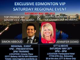 EDMONTON WITH SVP & COC JENNIFER DOWD