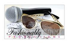 Fashionably Funny Productions logo