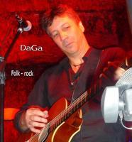 DaGa en concert au Clin's Factory