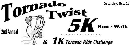 2015 Tornado Twist 5K & 1K Run Tornado Kids Challenge