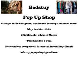 Bedstuy Pop Up Shop