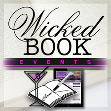 Wicked Book Events by Ana's Attic  logo