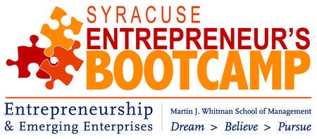 2015 Syracuse Entrepreneur's Bootcamp
