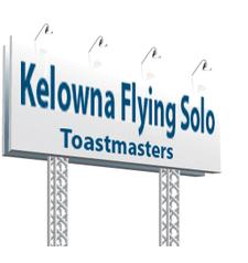 Kelowna Flying Solo Toastmasters logo