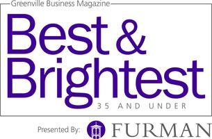 Greenville Business Magazine's Best & Brightest 35 and...