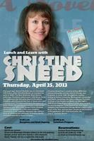 Lunch and Learn with Christine Sneed