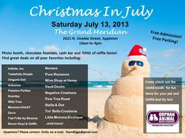 Christmas in July - Shop your Favorite Local Vendors!