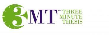 3 Minute Thesis (3MT) Competition Faculty of Sciences...