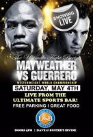 Mayweather vs Guerrero - Orange County's Official...