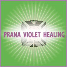 Prana Violet Healing logo