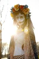 Create a Mexican Day of the Dead Flower Crown
