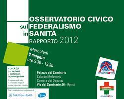 Osservatorio sul federalismo in sanità 2012