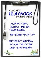 Coaches Playbook Training Event