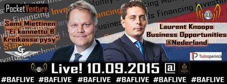 BAF Live! 10.9.2015 Business Season Opening