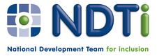 NDTi in association with Improving Health and Lives and NDTi for Public Health England logo