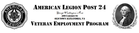 American Legion Post 24 - Veteran Networking Event