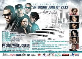 10TH ANNUAL ALL WHITE BOAT RIDE