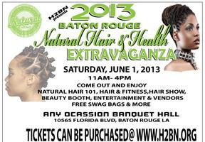 H2BN presents the 2013 Baton Rouge Natural Hair &...