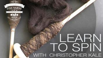 Learn to Spin with a Drop Spindle with Christopher Kale
